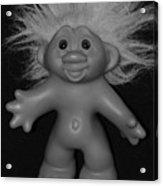 Happy Troll Acrylic Print