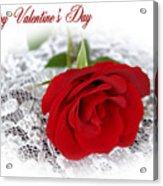 Happy Valentine's Day Acrylic Print