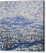 Happy Winter. Acrylic Print