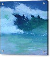 Hapuna Beach Shore Stack Acrylic Print