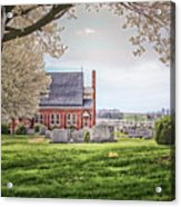 Harbaugh Church In The Spring Acrylic Print