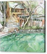 Harbin Hotsprings Pool Acrylic Print