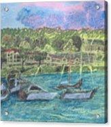 Harbor At Halesite Acrylic Print