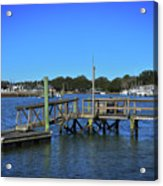 Harbor At Mcclellanville, Sc Acrylic Print
