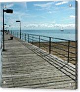 Harbor Beach Lake Huron Michigan Acrylic Print