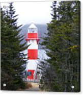 Harbor Breton Lighthouse Acrylic Print