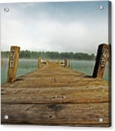 Harbor Dock Acrylic Print