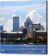 Harbor Island Florida Acrylic Print