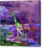 Harbor Island Workhorses Acrylic Print