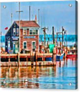 Harbor Master Acrylic Print