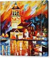 Harbor Of Excitement Acrylic Print