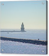 Harbor Of Refuge Lighthouse  Lewes Delaware Acrylic Print