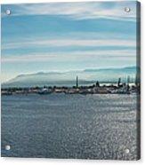 Harbor Panorama  Acrylic Print