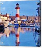 Harbor Reflections Acrylic Print