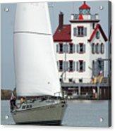 Harbor Sailor Acrylic Print