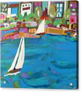 Harbor Sails Acrylic Print