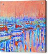Harbor Sunrise  Eight Am Acrylic Print