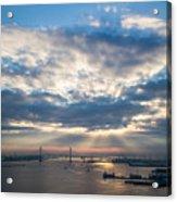 Harbor Sunrise Acrylic Print