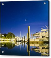 Harbor Town Yacht Basin Light House Hilton Head South Carolina Acrylic Print