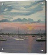 Harbor Twilight Acrylic Print