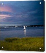 Harborview Sunset Acrylic Print