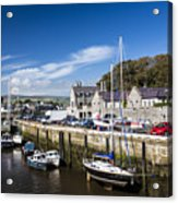 Harbour At Port Erin Acrylic Print