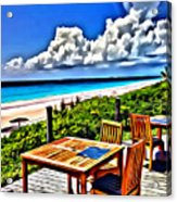 Harbour Island Acrylic Print