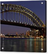 Harbour Lights Acrylic Print
