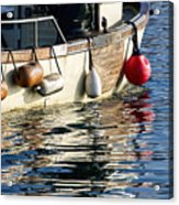 Harbour Reflections 3 - June 2015 Acrylic Print