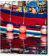 Harbour Reflections 5 - June 2015 Acrylic Print