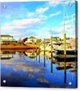 Harbour Reflections Acrylic Print