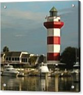 Harbour Town Light Hilton Head South Carolina Acrylic Print