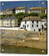 Harbourside Buildings - Porthleven Acrylic Print