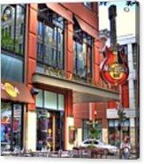 Hard Rock Cafe Denver Acrylic Print