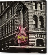 Hard Rock Philly Acrylic Print