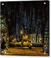 Harding Christmas Postcard Acrylic Print