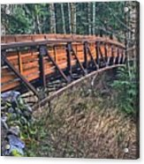 Hardy Creek Bridge Acrylic Print