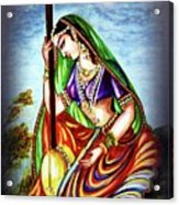 Hare Krishna - Ecstatic Chanting  Acrylic Print