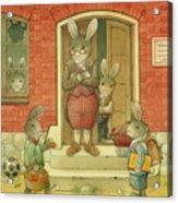 Hare School Acrylic Print