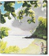 Hark Hawaii Acrylic Print