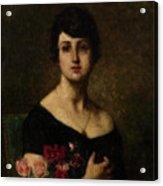 Harlamoff, Alexei 1840-1925 Female Portrait Acrylic Print