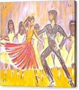 Harlem Dance Troop Acrylic Print