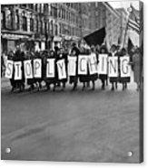 Harlem Protests The Scottsboro Verdict Acrylic Print by Everett