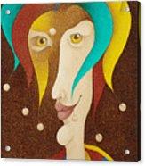 Harlequin 2006 Acrylic Print