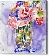 Harlequin Or Bright Side Of Life Acrylic Print
