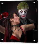Harley And The Joker Acrylic Print