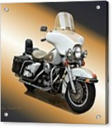 Harley Classic Gold Acrylic Print