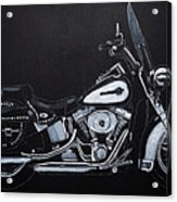 Harley Davidson Snap-on Acrylic Print