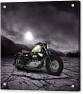Harley Davidson Sportster Forty Eight 2013 Mountains Acrylic Print