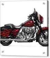 Harley-davidson Street Glide Motorcycle Acrylic Print